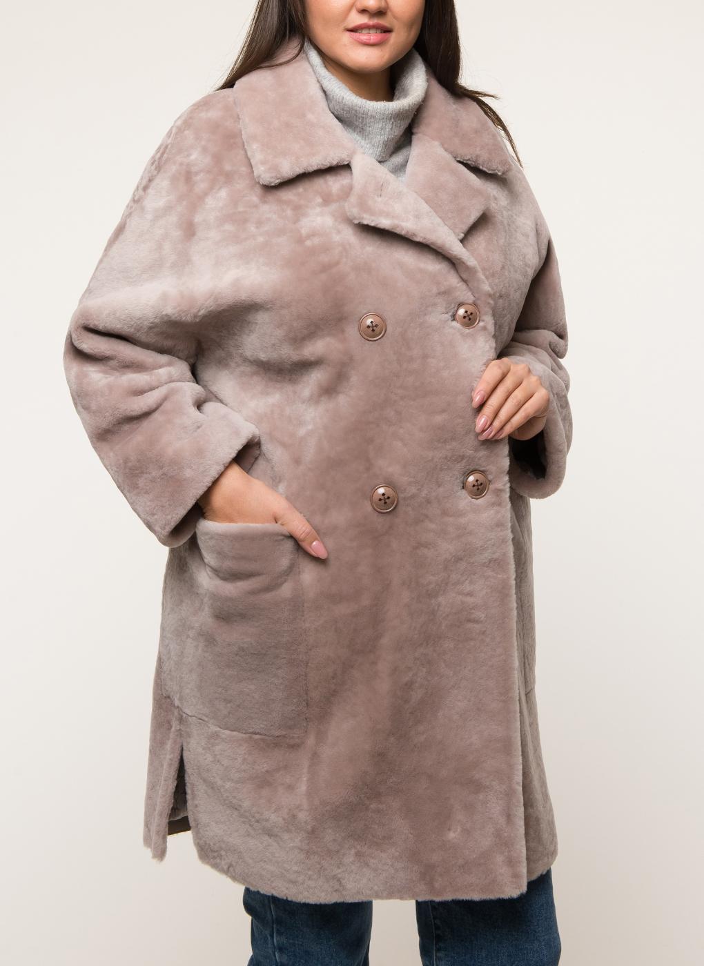 Пальто из овчины керли 02, Юник фото
