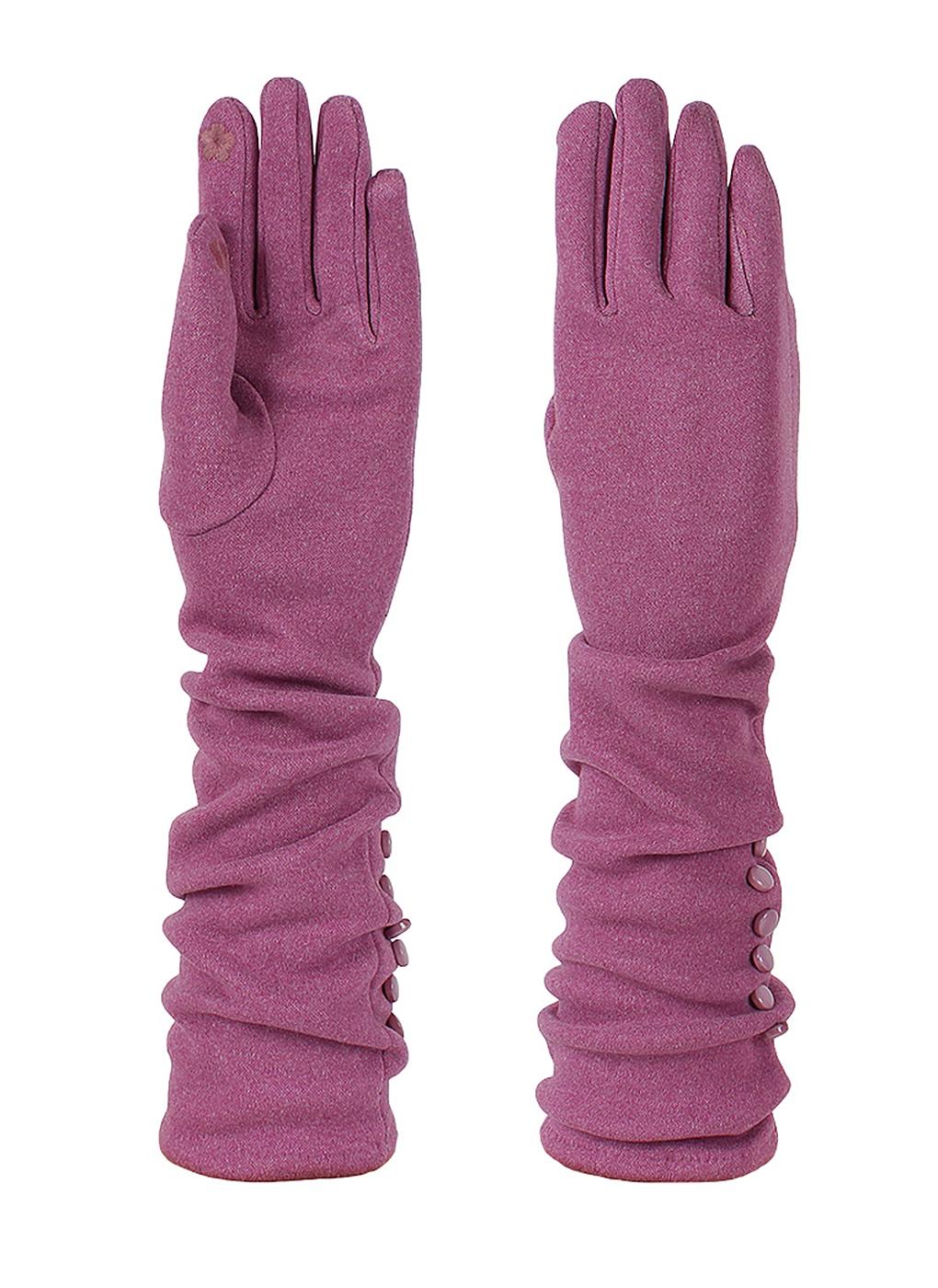 Перчатки женские из трикотажа 63, Lorentino фото