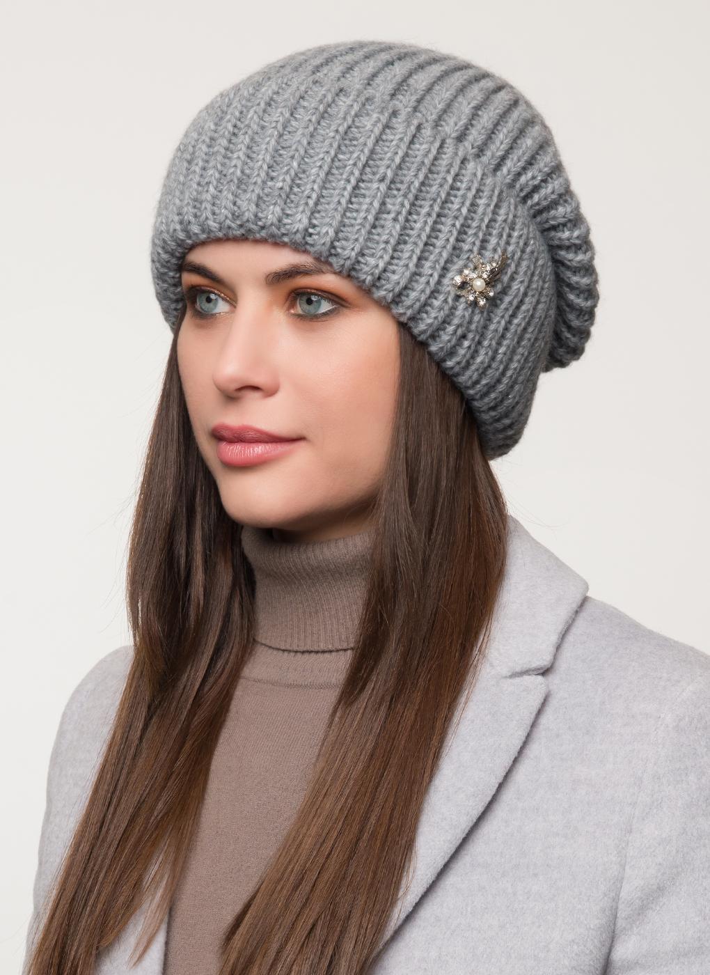 Вязаная шапка 08, Светлана фото