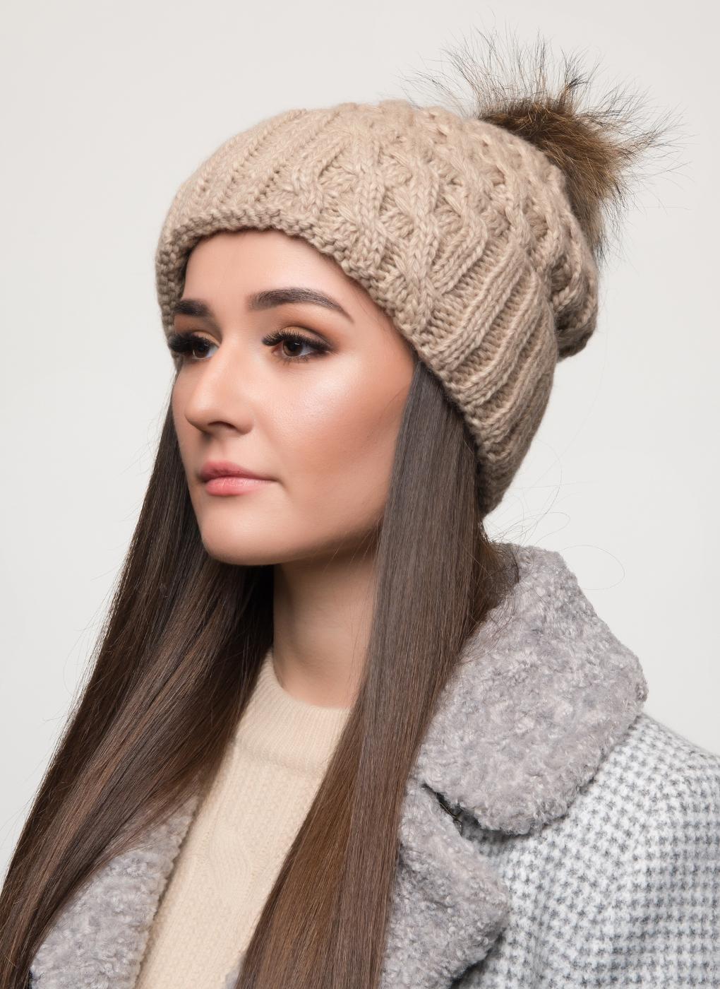 Вязаная шапка 06, Светлана фото