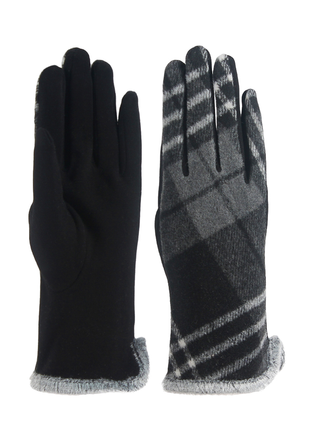 Перчатки женские из трикотажа 50, Lorentino