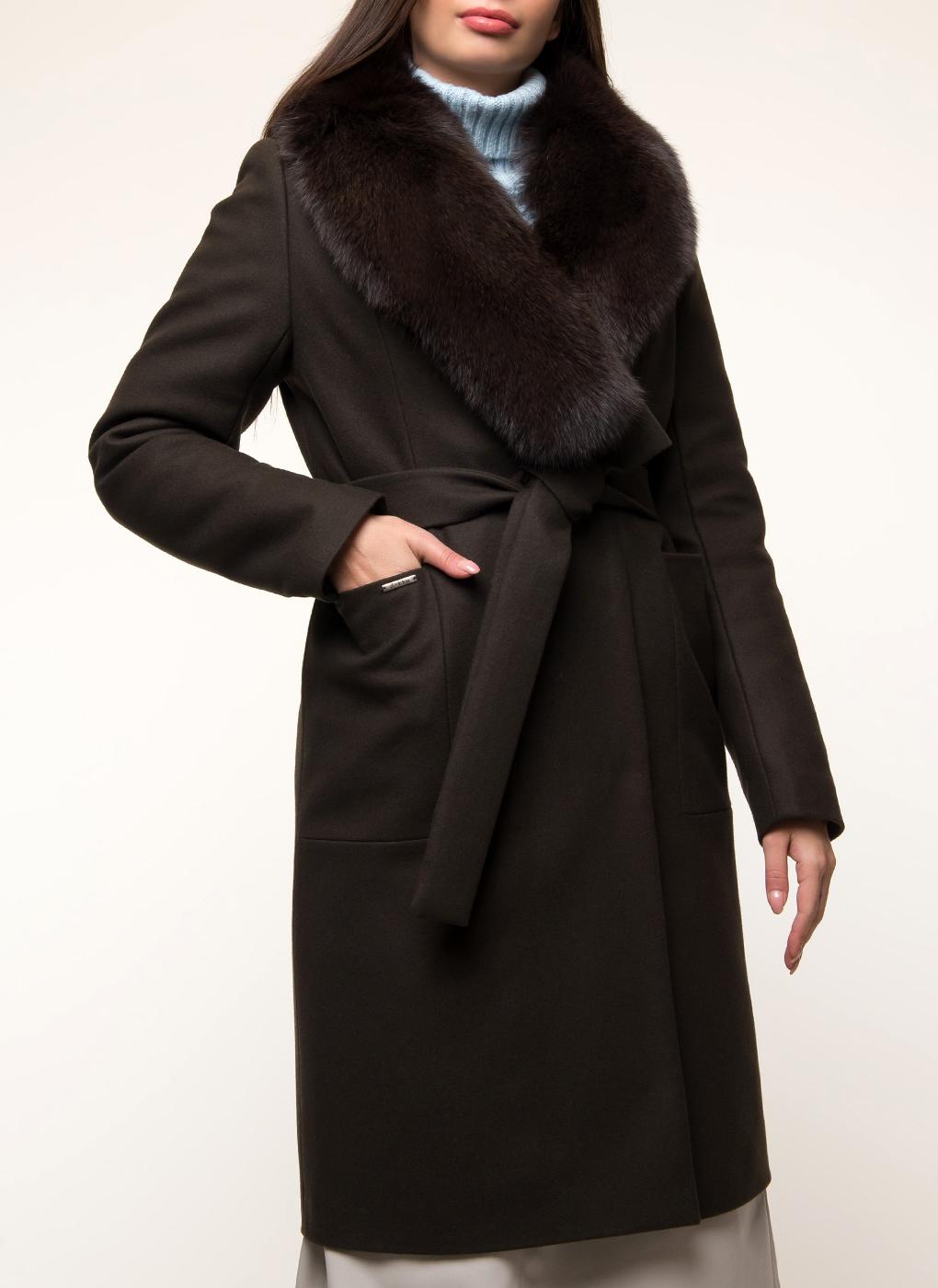 Пальто прямое шерстяное 54, idekka