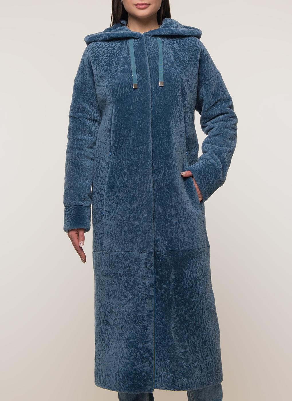 Пальто прямое из овчины 24, Aliance Fur фото