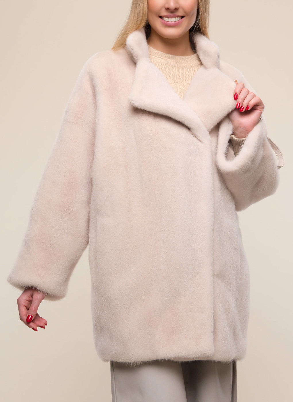 Норковая шуба Неллина 01, Soulis furs
