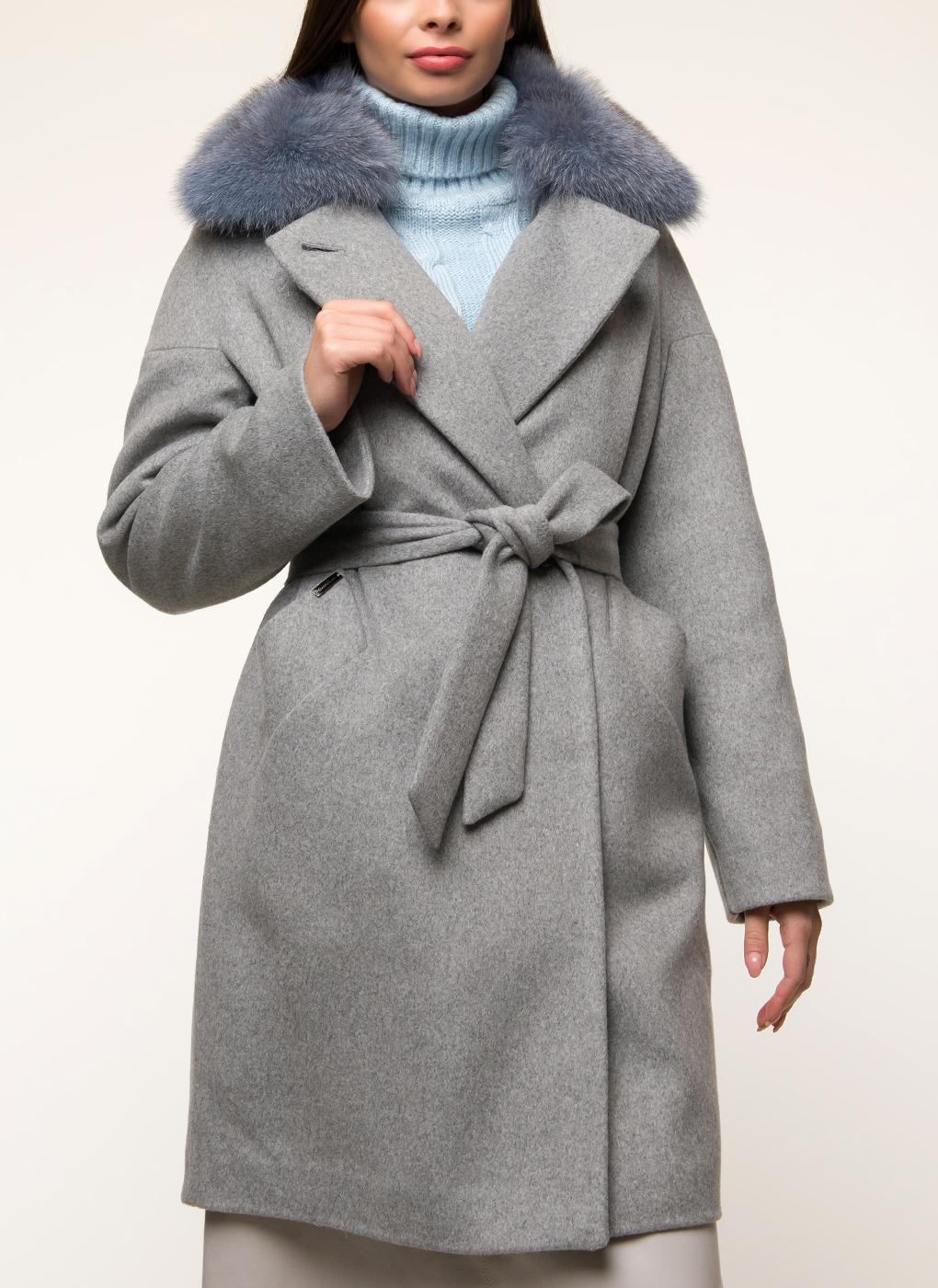 Пальто прямое полушерстяное 31, Galla Lady фото