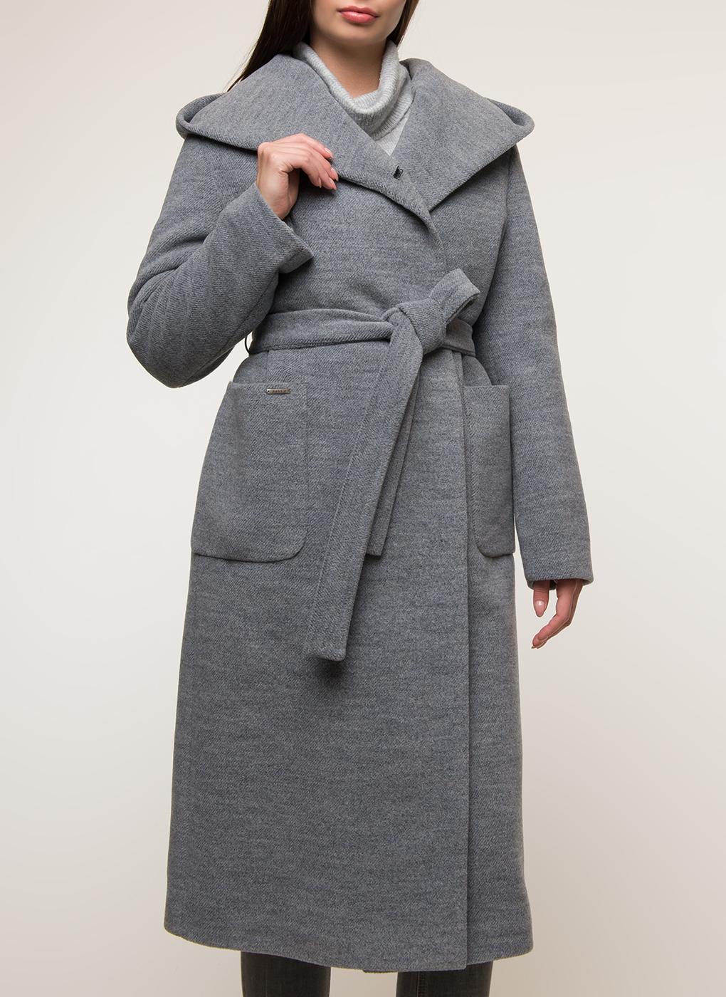 Пальто прямое шерстяное 55, idekka фото