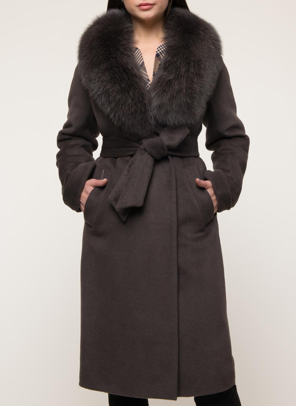 Пальто прямое шерстяное 46, idekka фото
