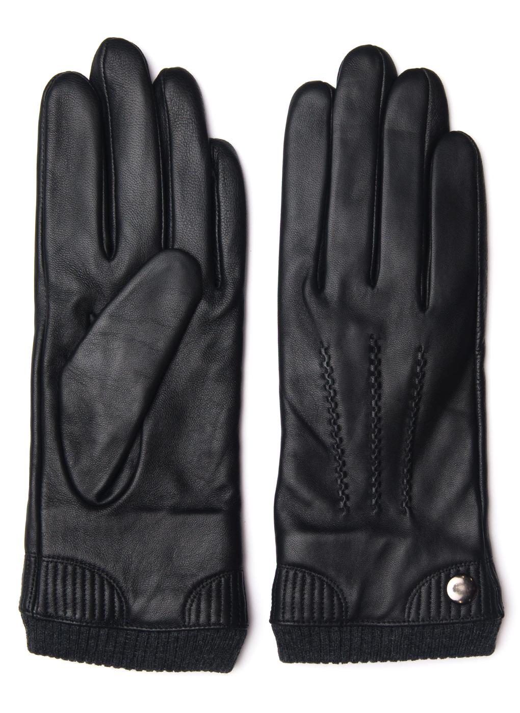 Перчатки кожаные мужские 01, Hannelore фото