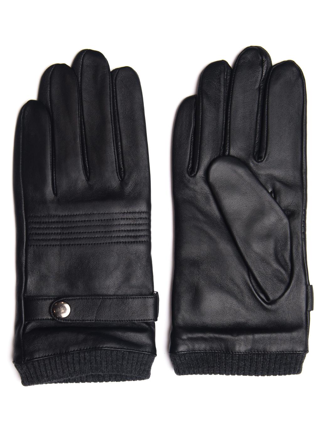 Перчатки кожаные мужские 04, Hannelore фото