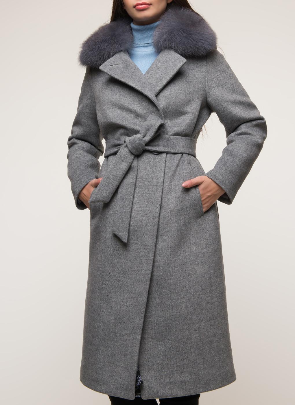 Пальто прямое полушерстяное 32, Galla Lady фото