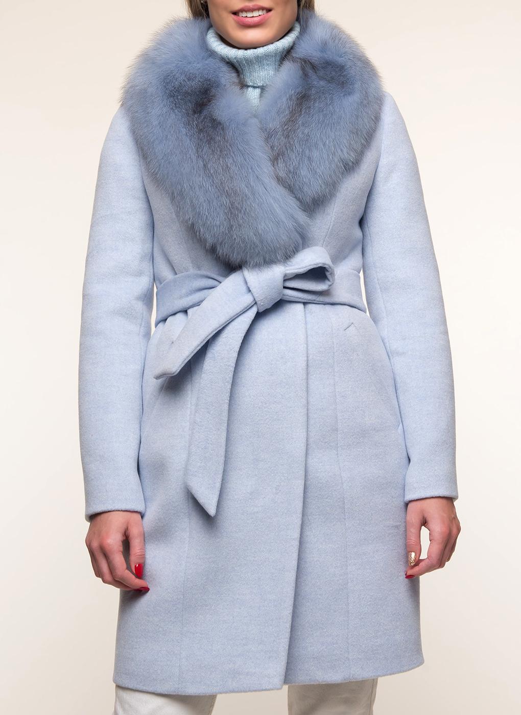 Пальто приталенное полушерстяное 01, Sezalto фото