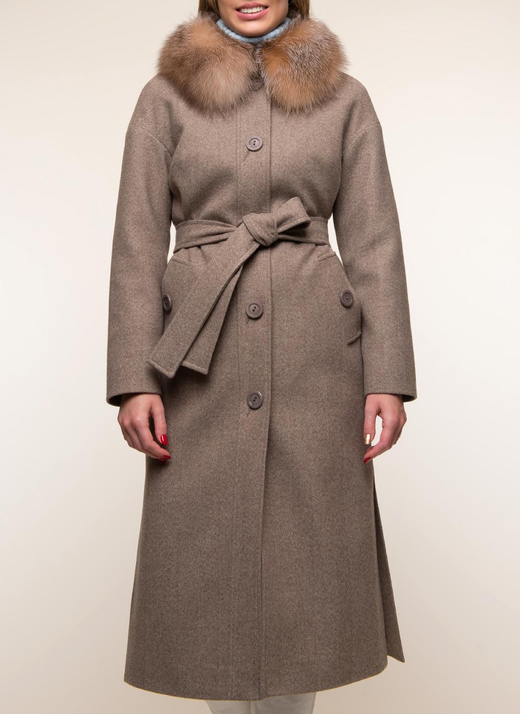 Пальто полушерстяное 37, Sezalto фото