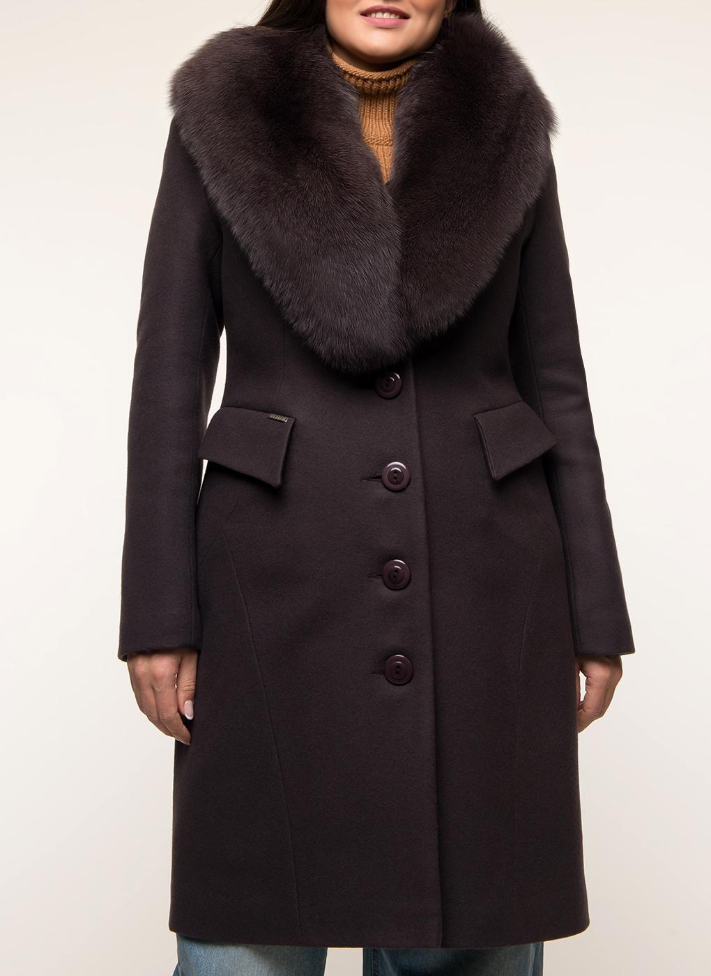 Пальто приталенное шерстяное 83, idekka фото