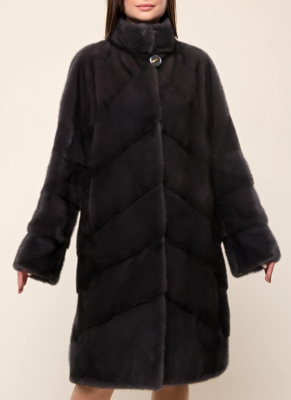 Норковая шуба Гелена 02, Anna Romanova furs