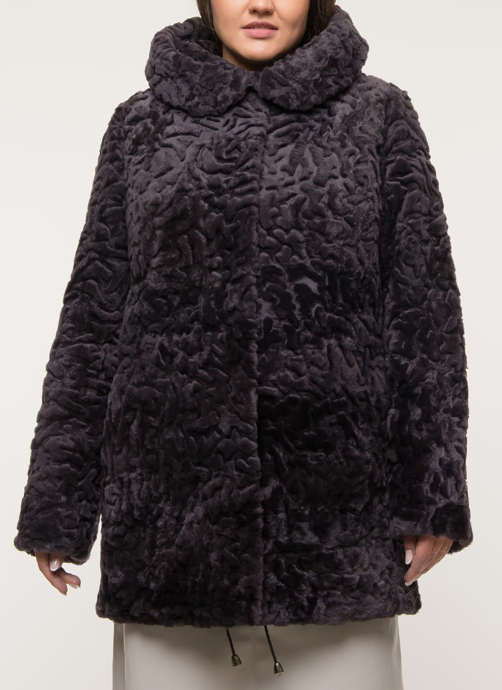 Куртка из овчины прямая 01, Anna Romanova furs фото
