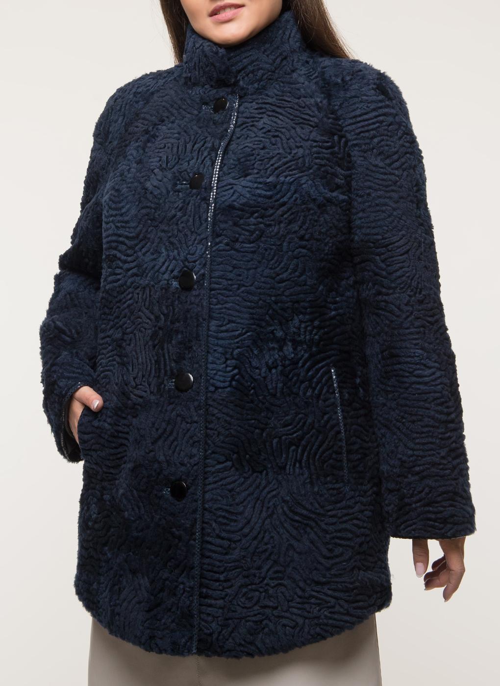 Куртка из овчины приталенная 01, Anna Romanova furs фото