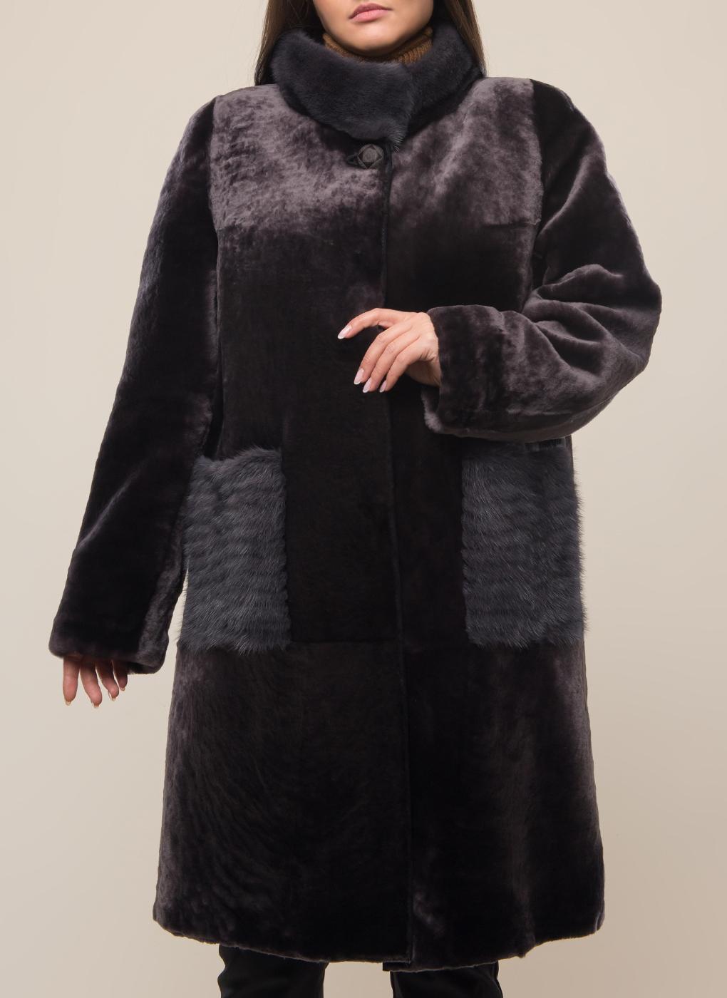 Пальто из овчины 02, Дианель меховой дом фото
