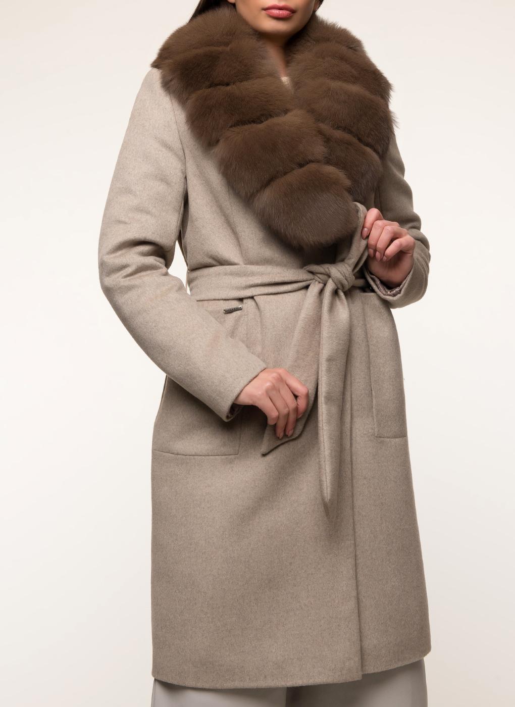 Пальто прямое шерстяное 54, idekka фото