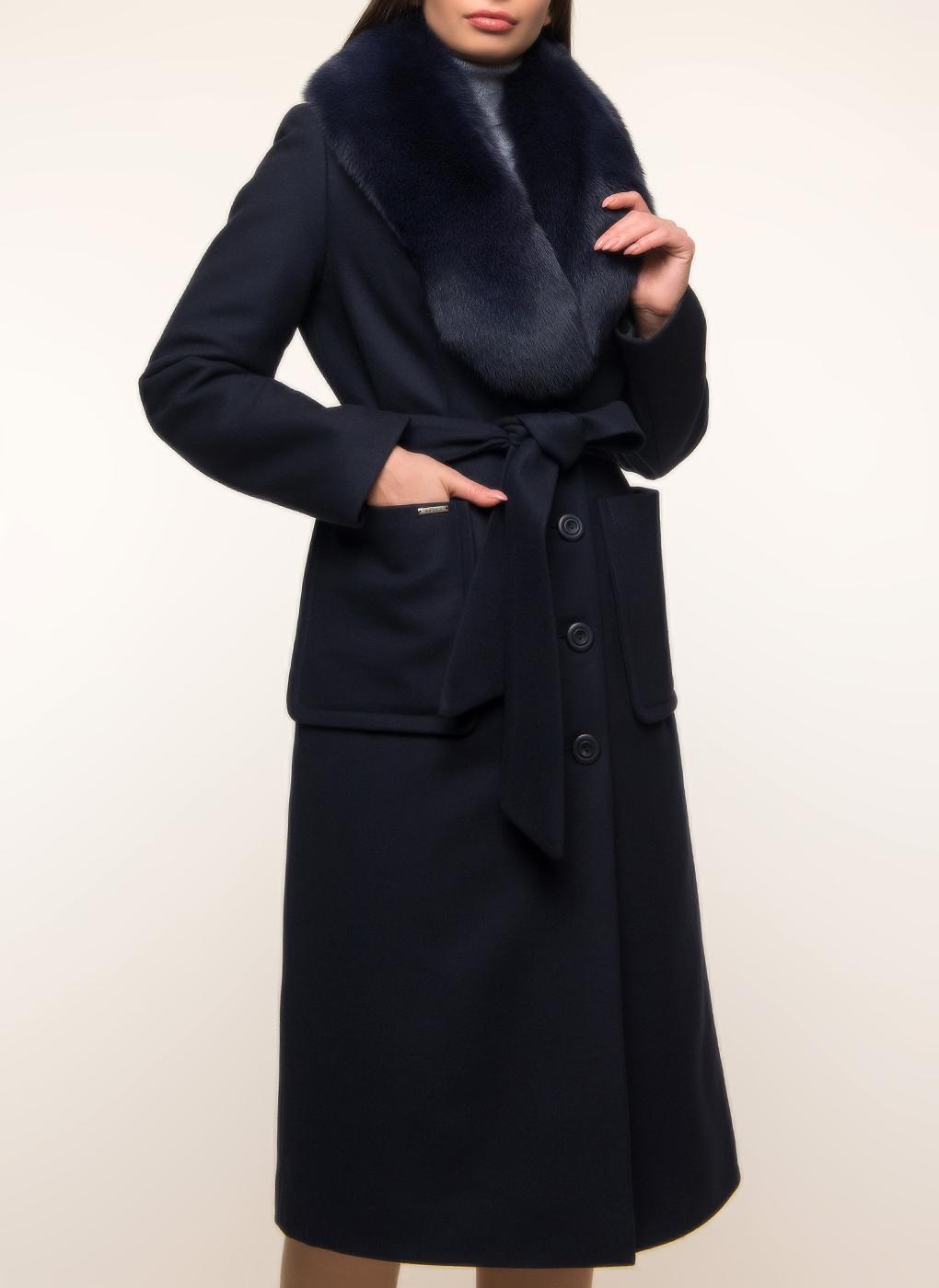 Пальто приталенное шерстяное 29, idekka