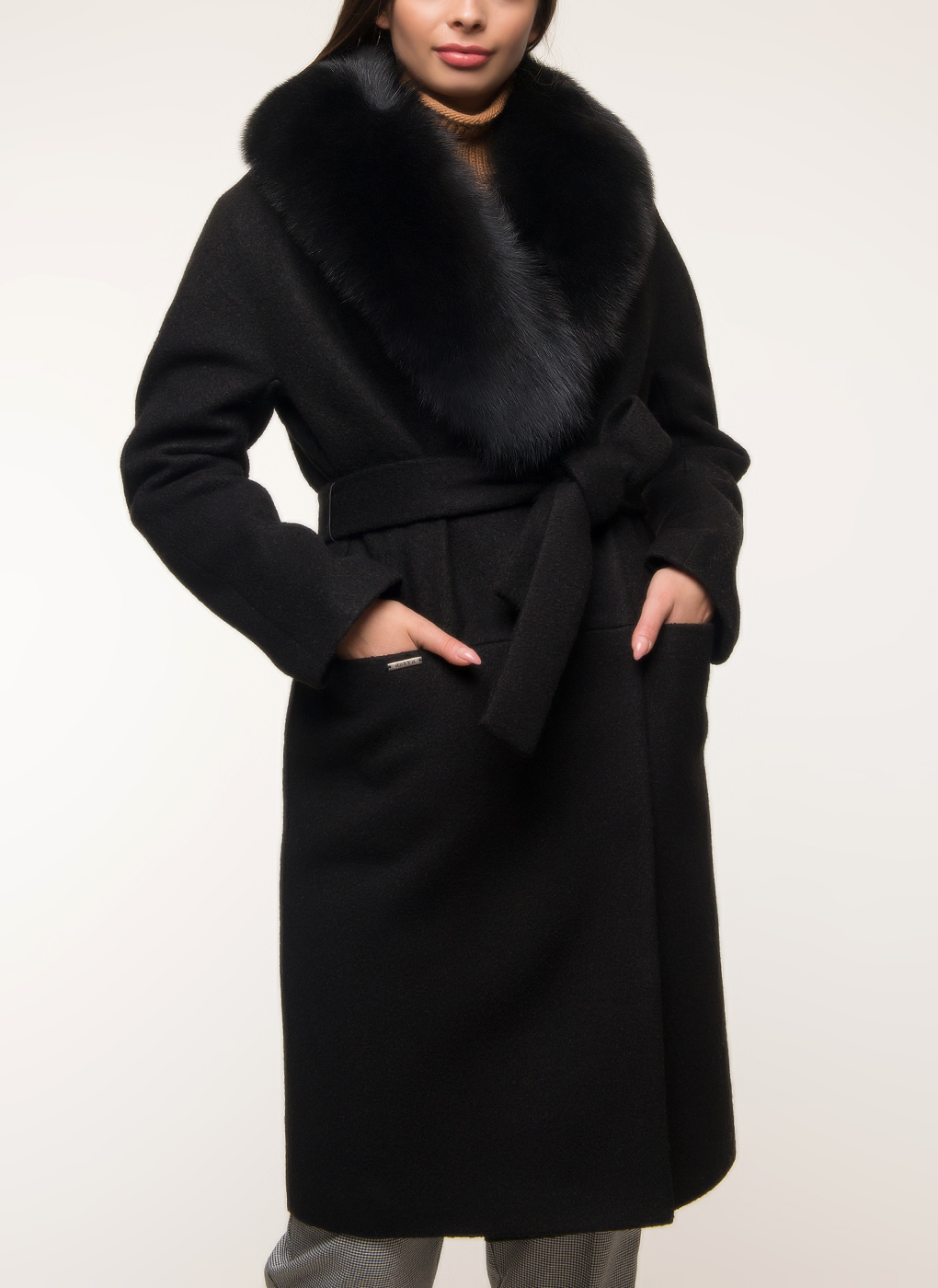 Пальто прямое полушерстяное 28, idekka фото