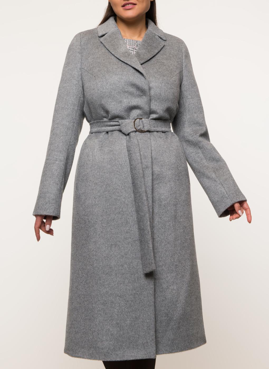 Пальто прямое полушерстяное 118, КАЛЯЕВ фото