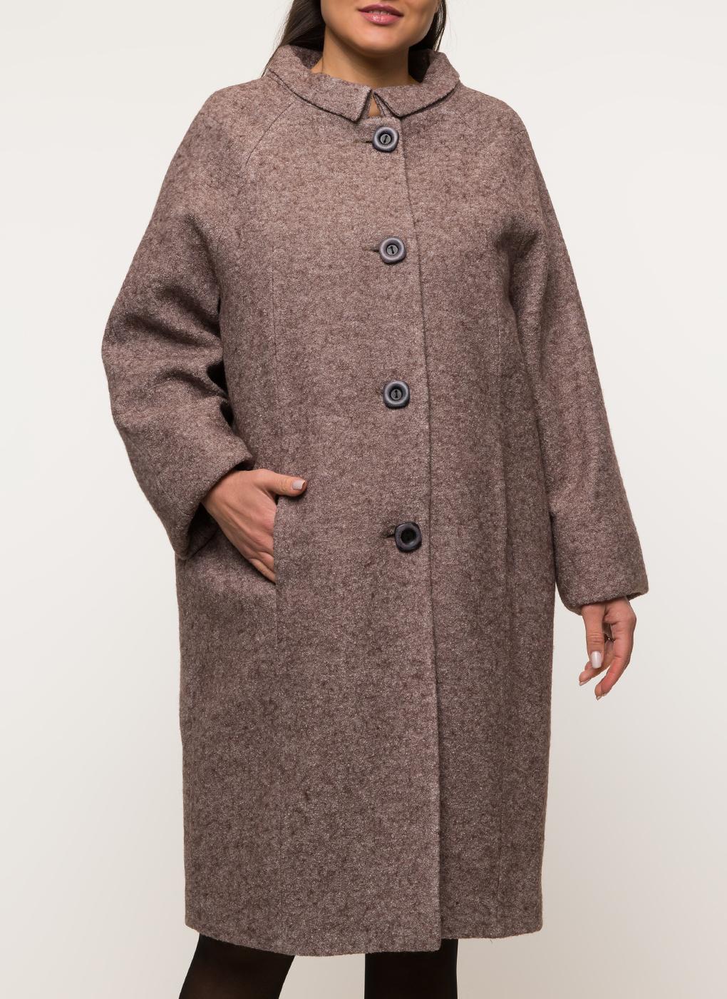 Пальто прямое шерстяное 45, Amulet фото