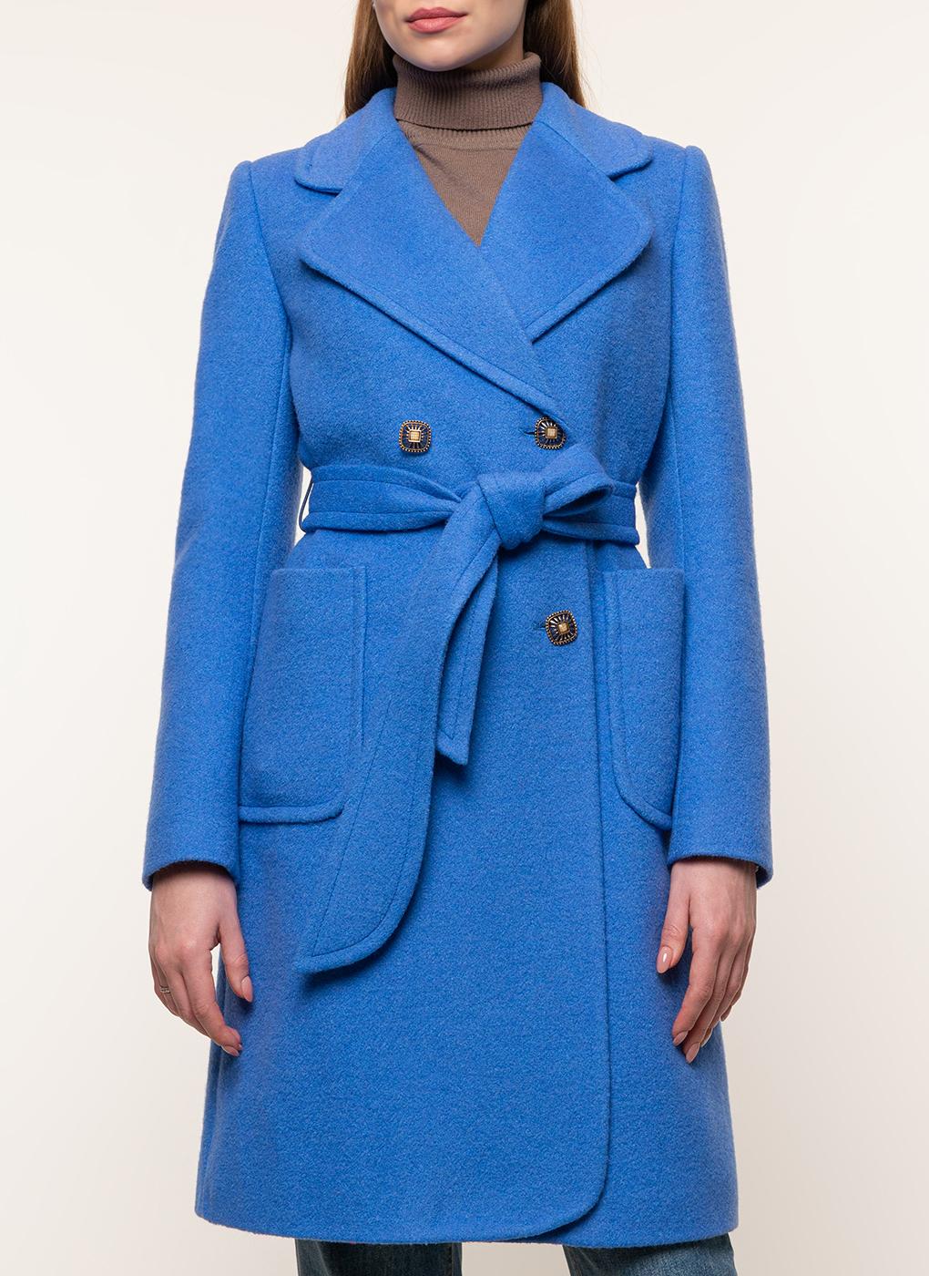 Пальто прямое полушерстяное 70, idekka фото