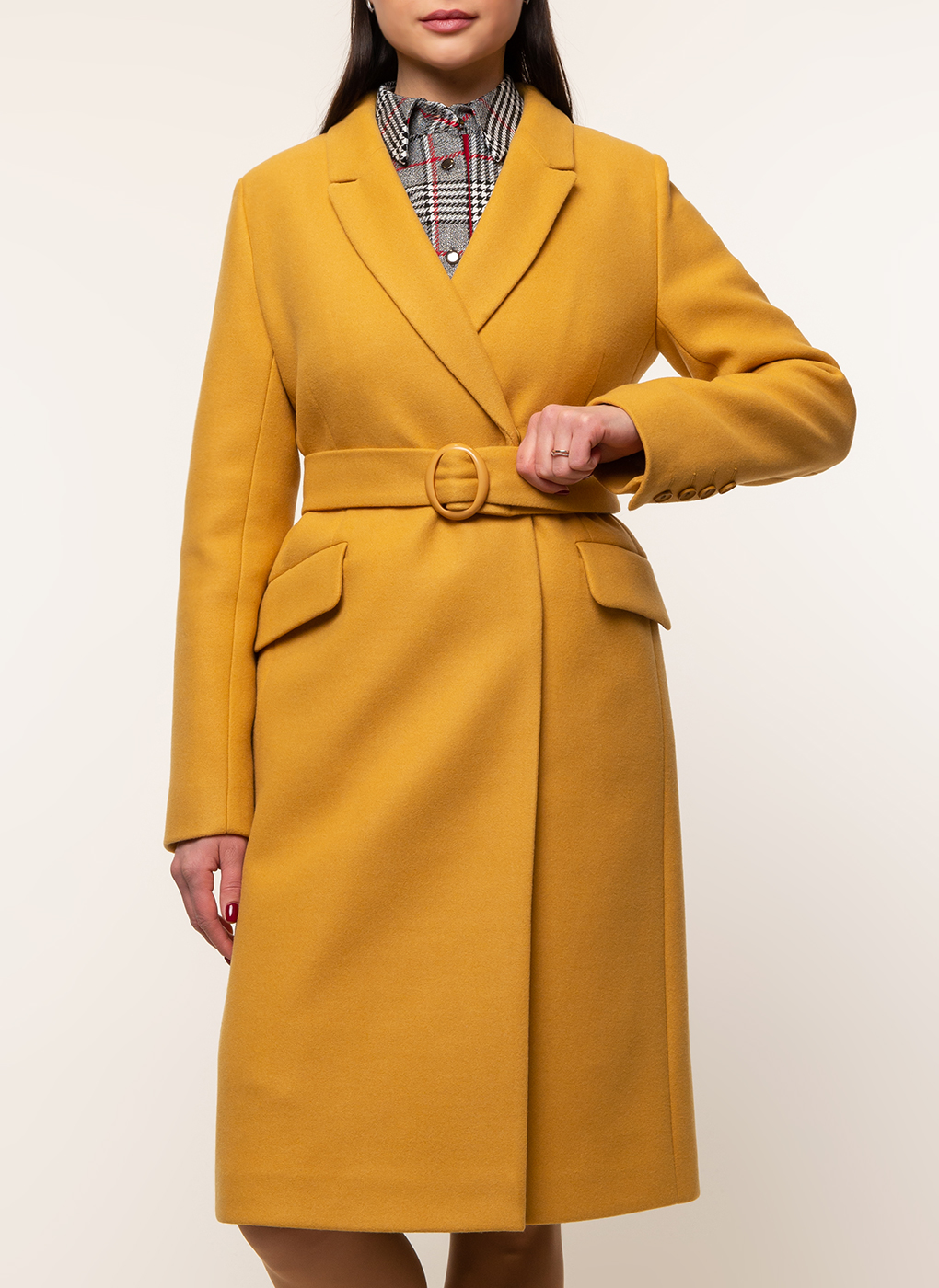 Пальто полушерстяное 47, Заря Моды фото