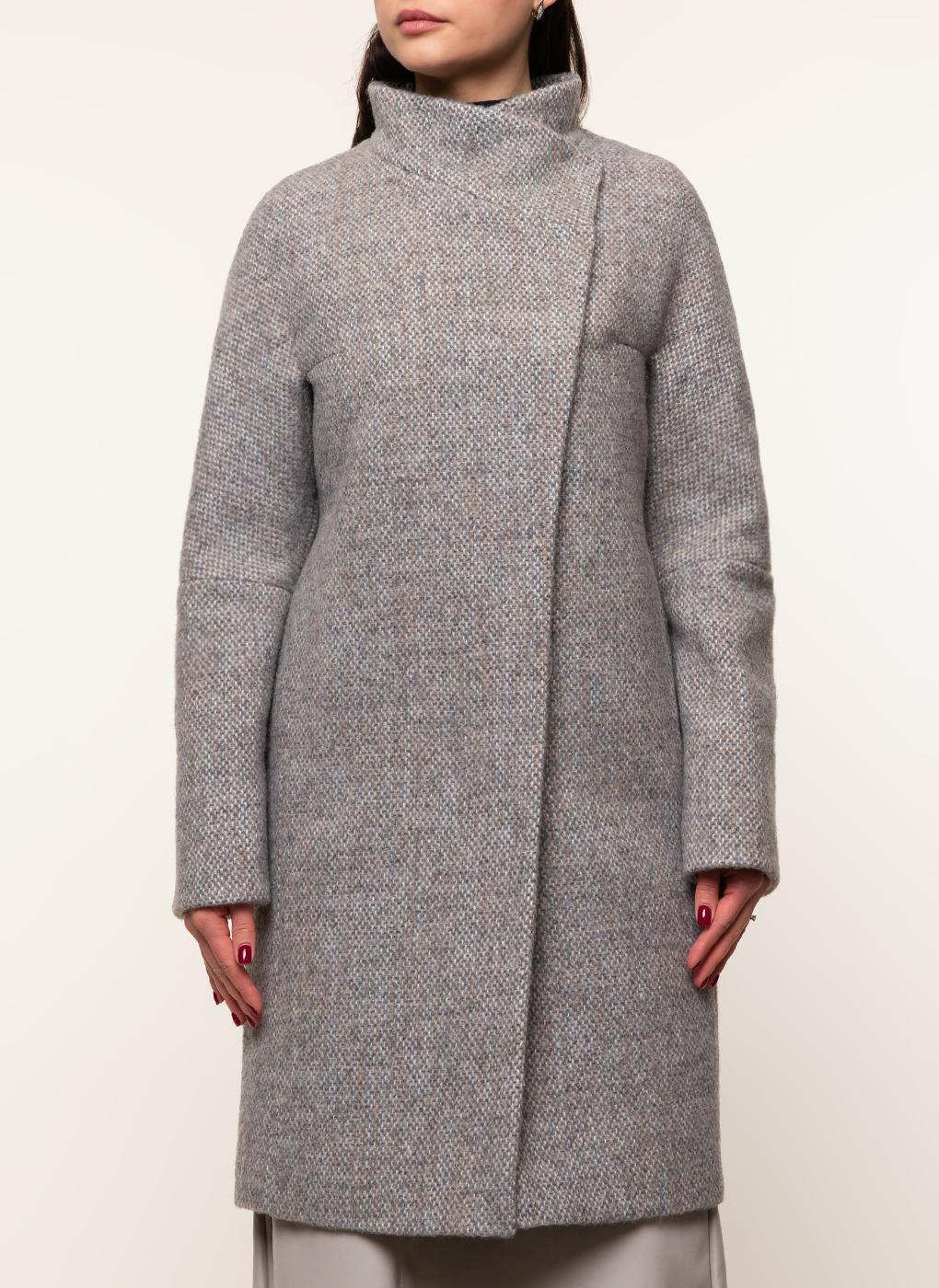 Пальто прямое полушерстяное 15, Galla Lady фото