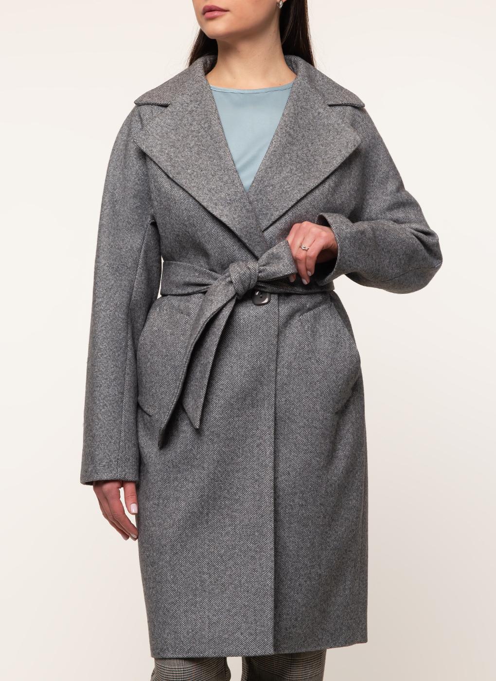 Пальто прямое полушерстяное 15, Sezalto фото