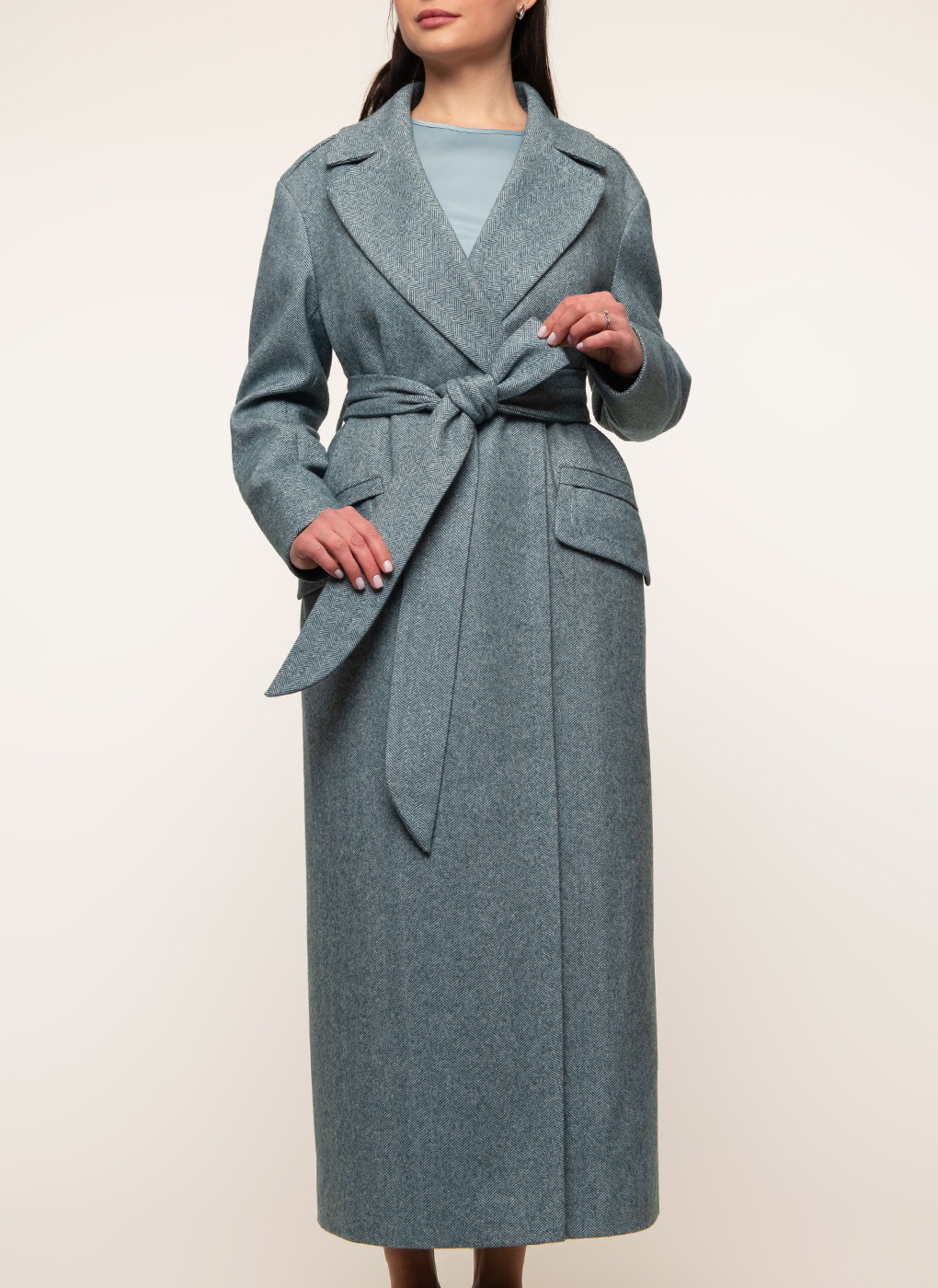 Пальто полушерстяное 45, Sezalto фото