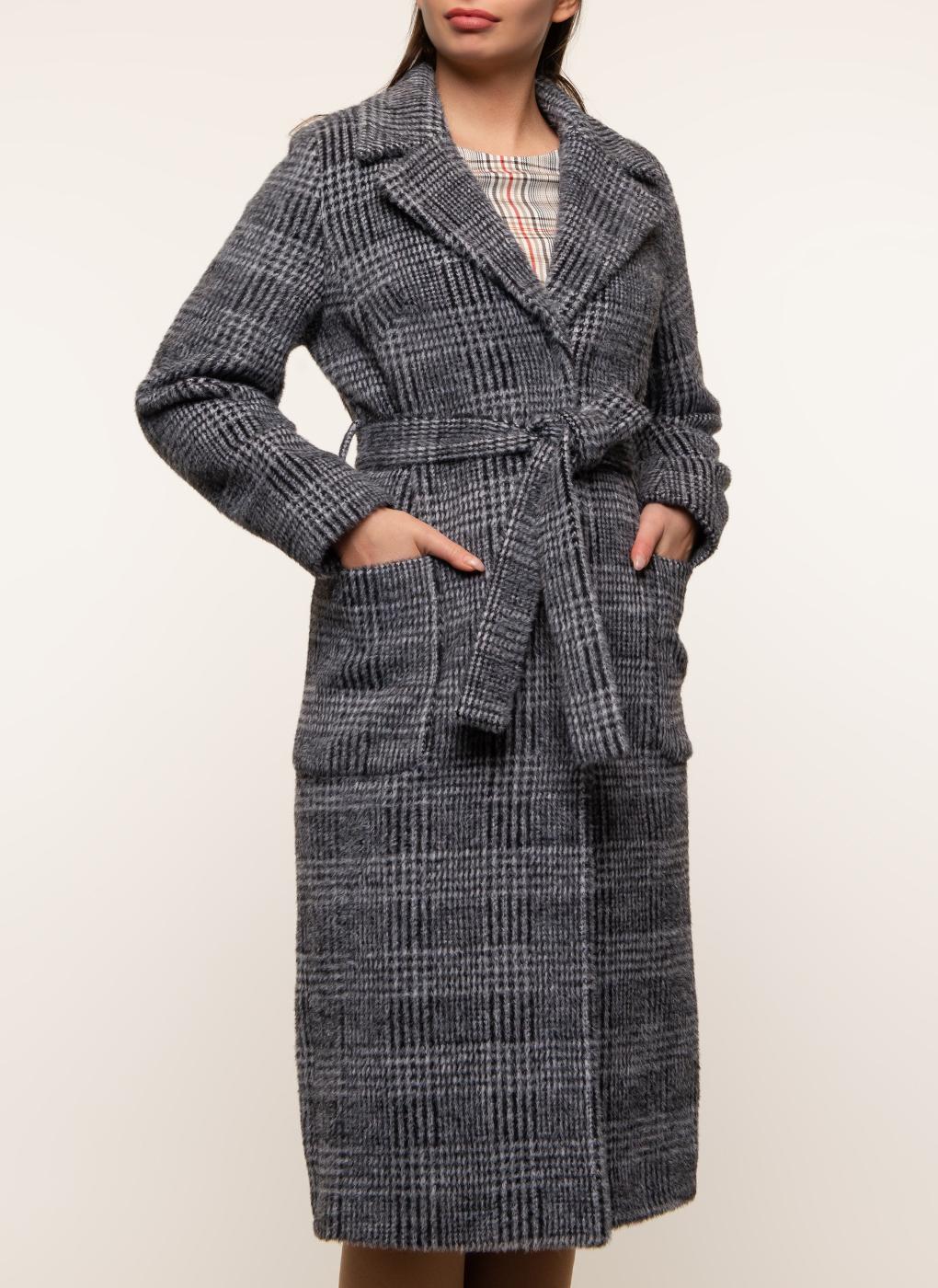Пальто прямое шерстяное 39, Amulet фото