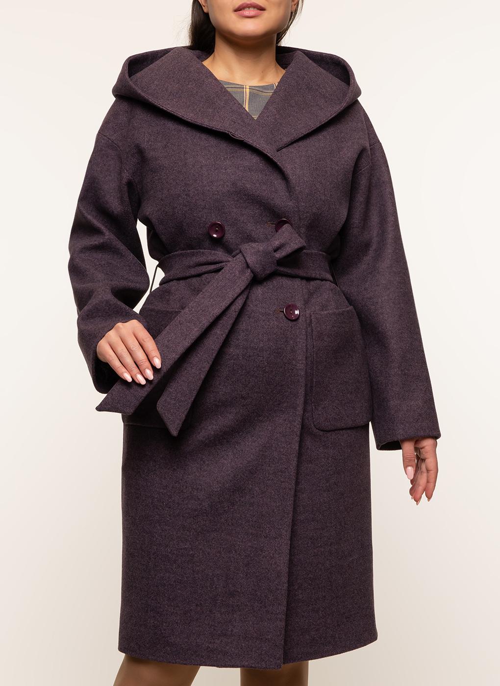 Пальто прямое полушерстяное 37, Amulet фото
