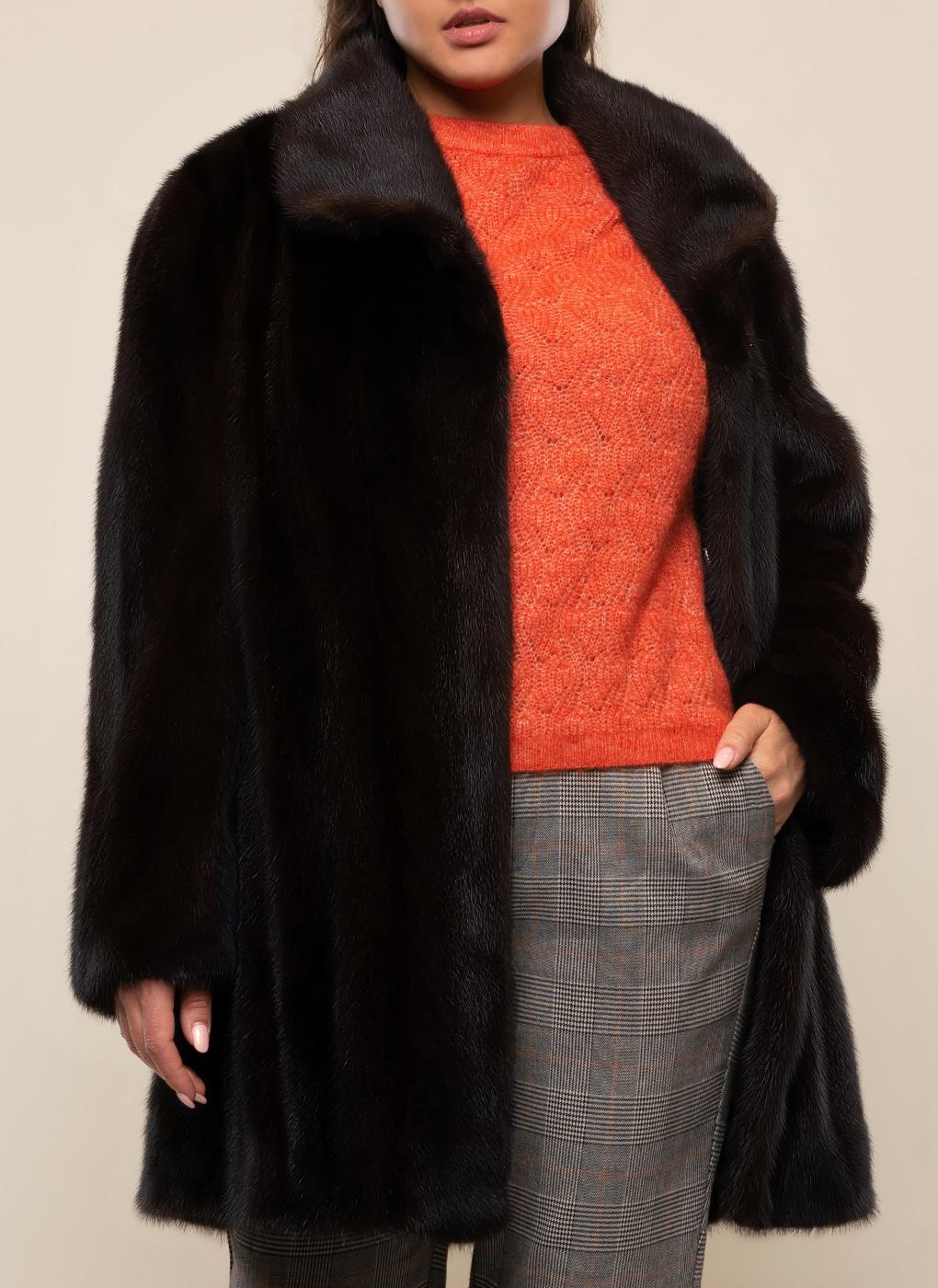 Норковая куртка Автоледи 02, Gellica фото