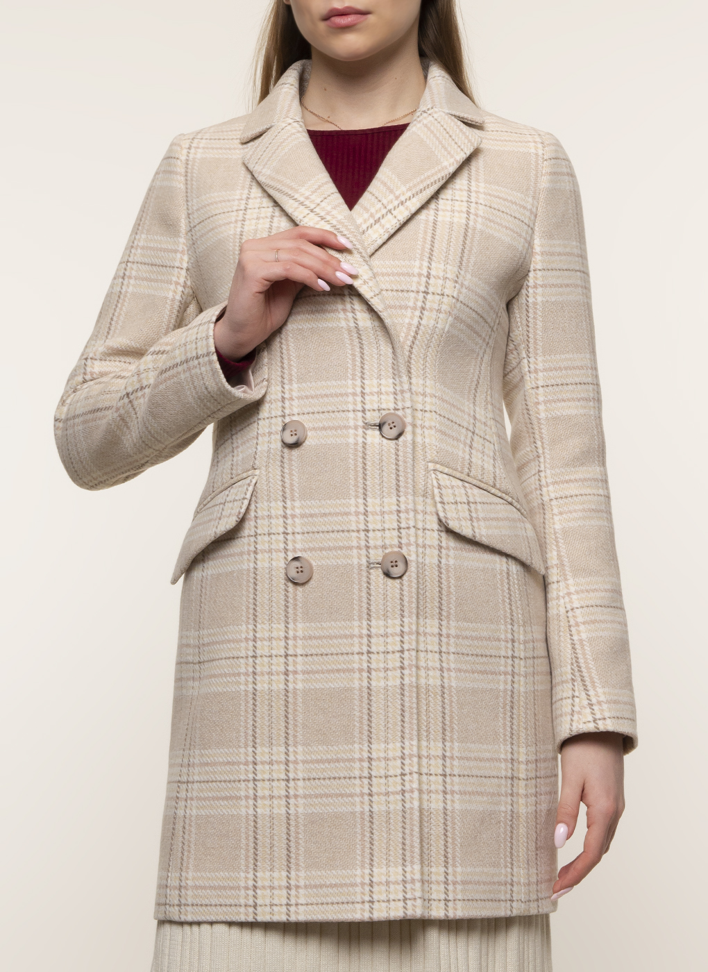 Пальто полушерстяное 48, Galla Lady фото