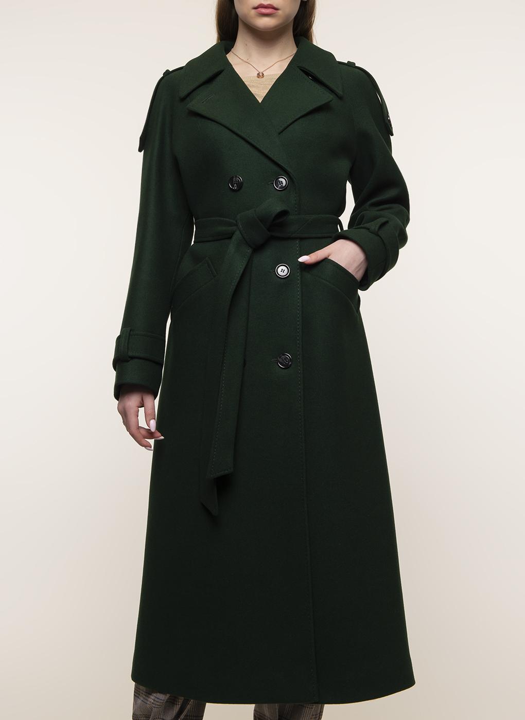 Пальто прямое полушерстяное 25, Заря Моды фото