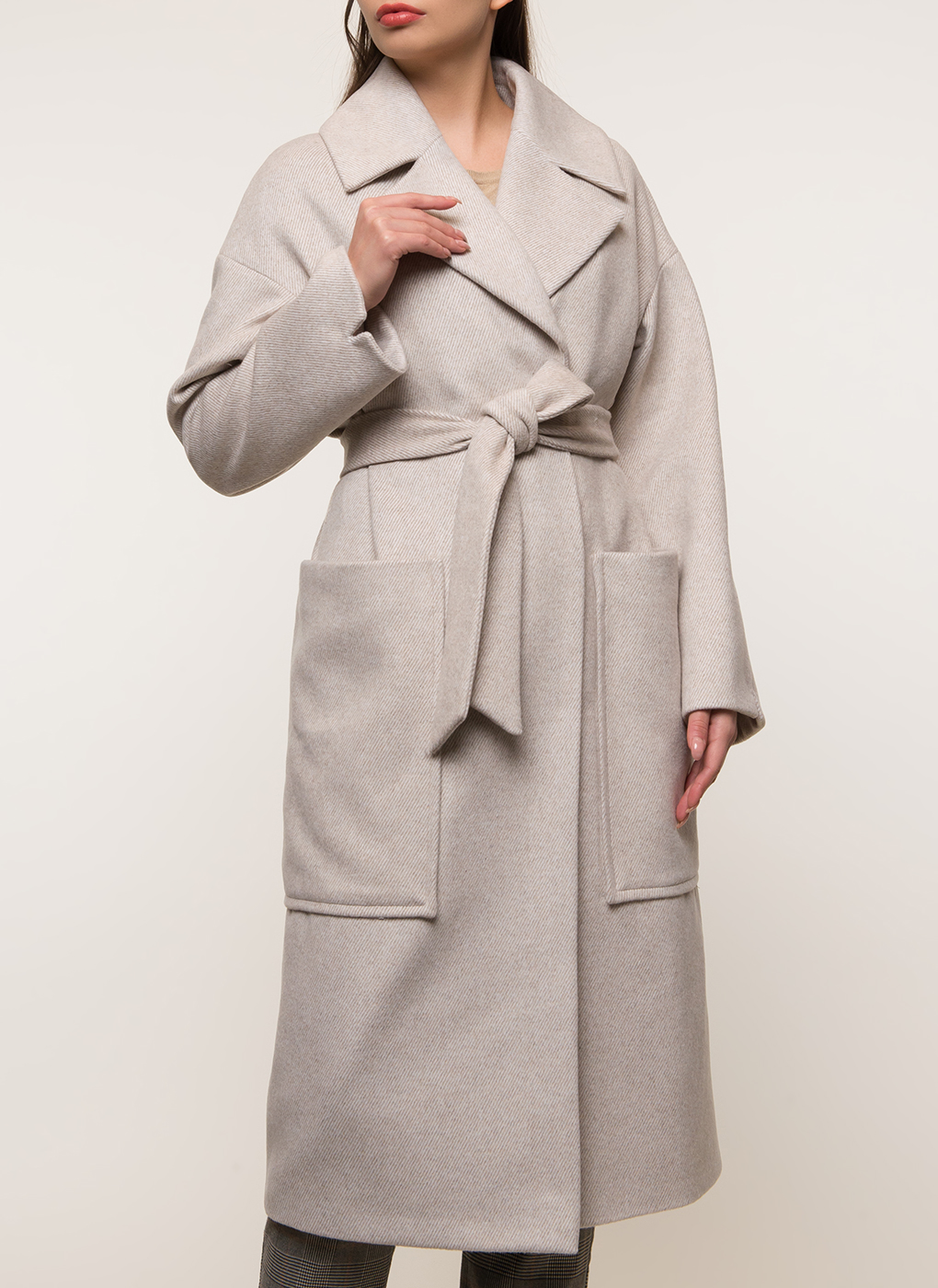 Пальто полушерстяное 167, КАЛЯЕВ фото