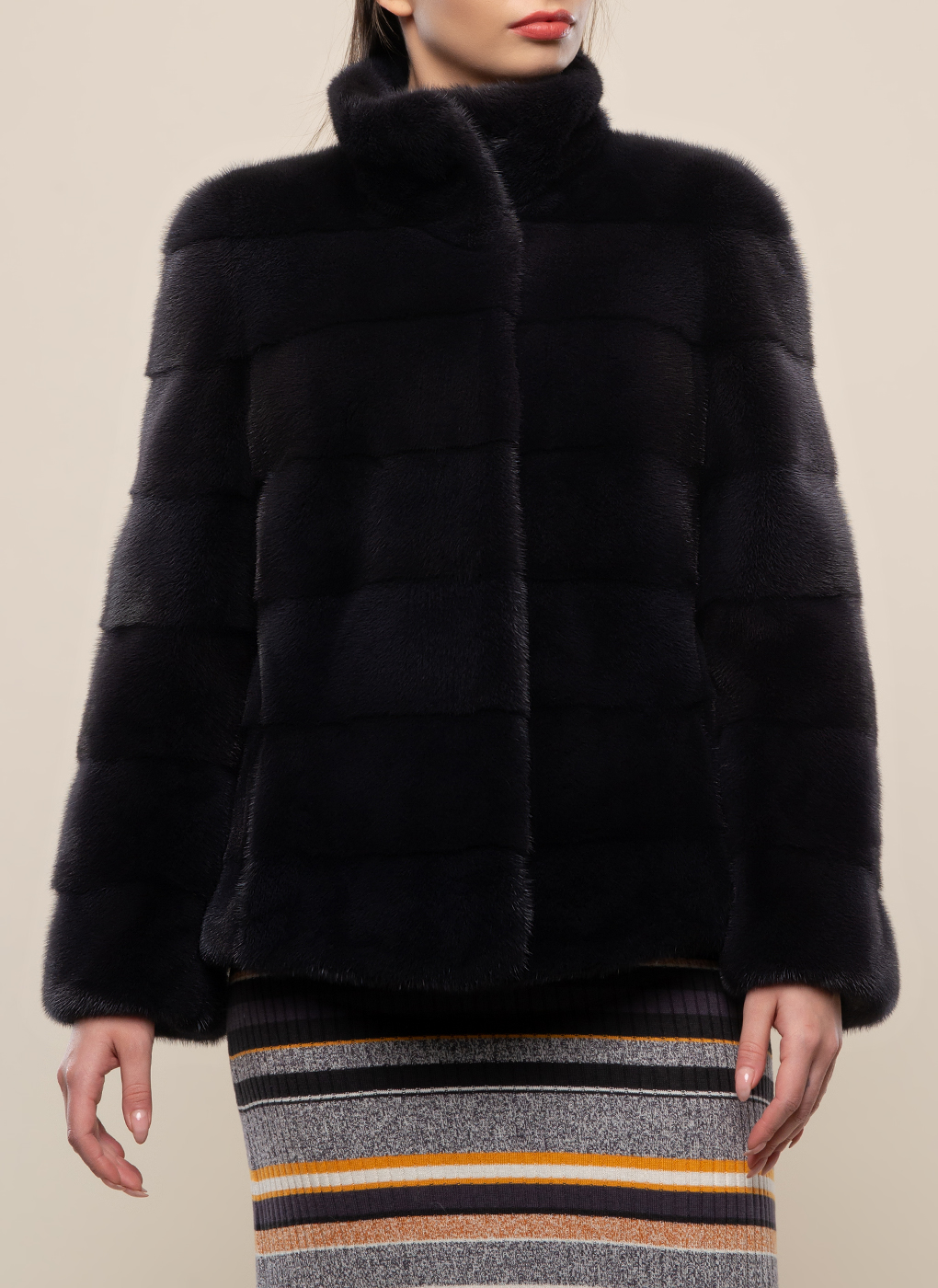 Норковая куртка Джульетта 01 фото