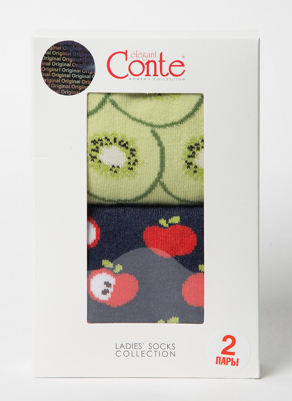 Носки женские 13 (2 пары), Conte elegant фото