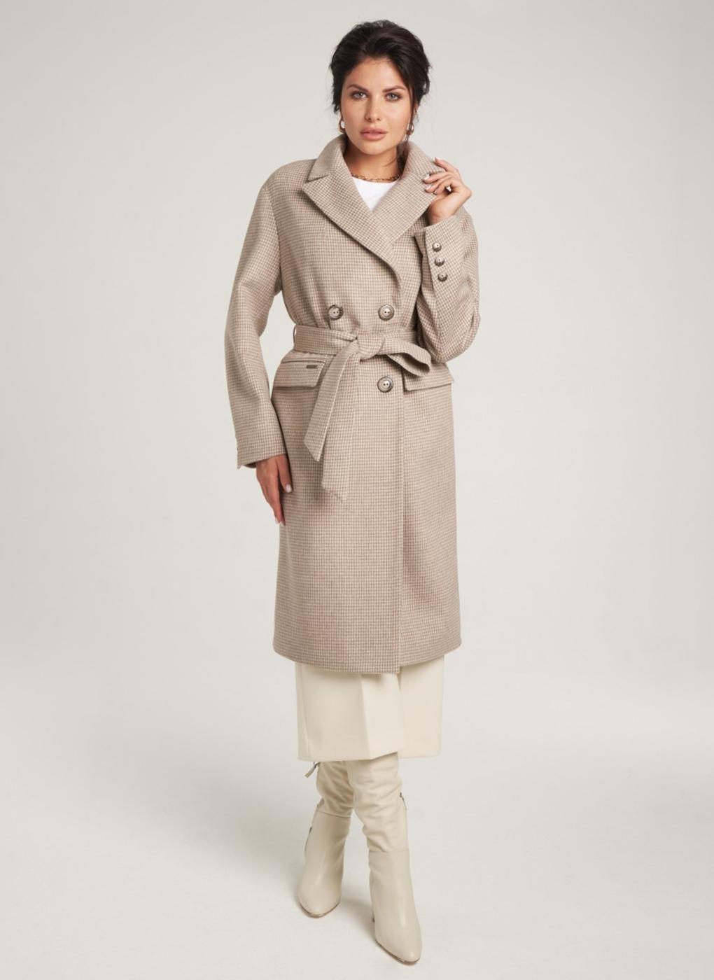Пальто прямое шерстяное 73, idekka фото