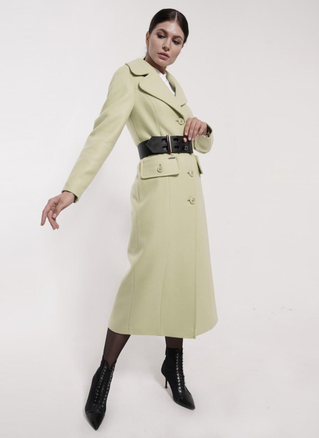 Пальто прямое шерстяное 75, idekka фото