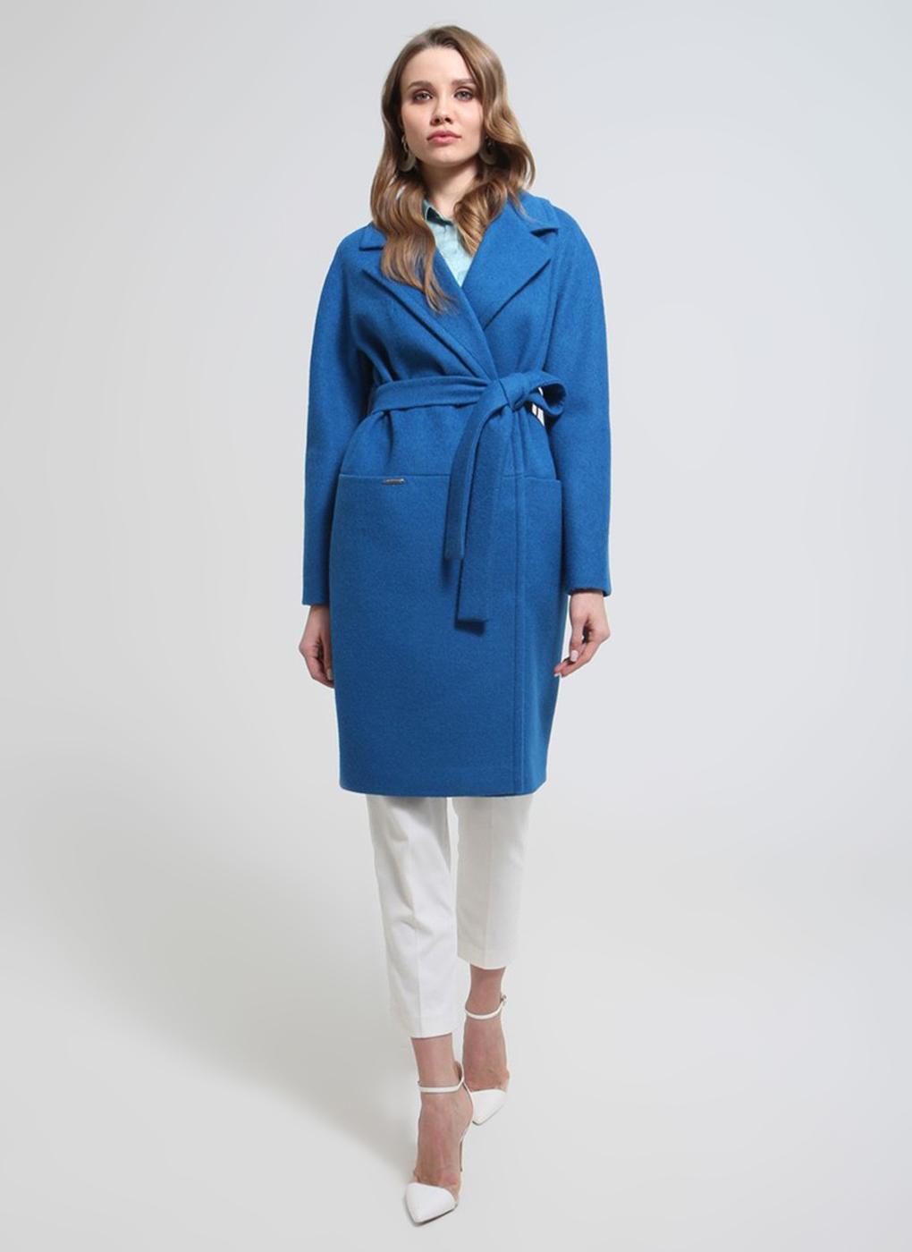 Пальто прямое полушерстяное 21, idekka фото