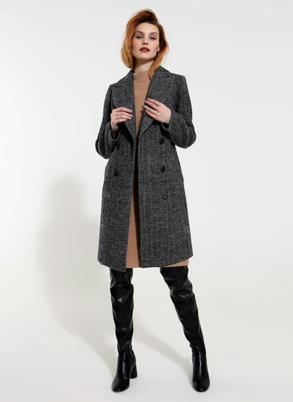 Пальто приталенное шерстяное 72, idekka фото