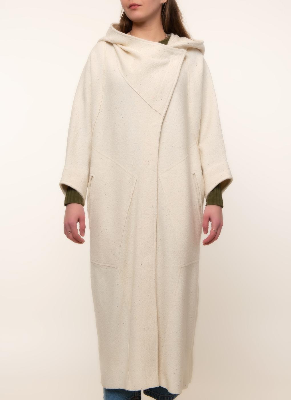Пальто кокон полушерстяное 01, Crosario