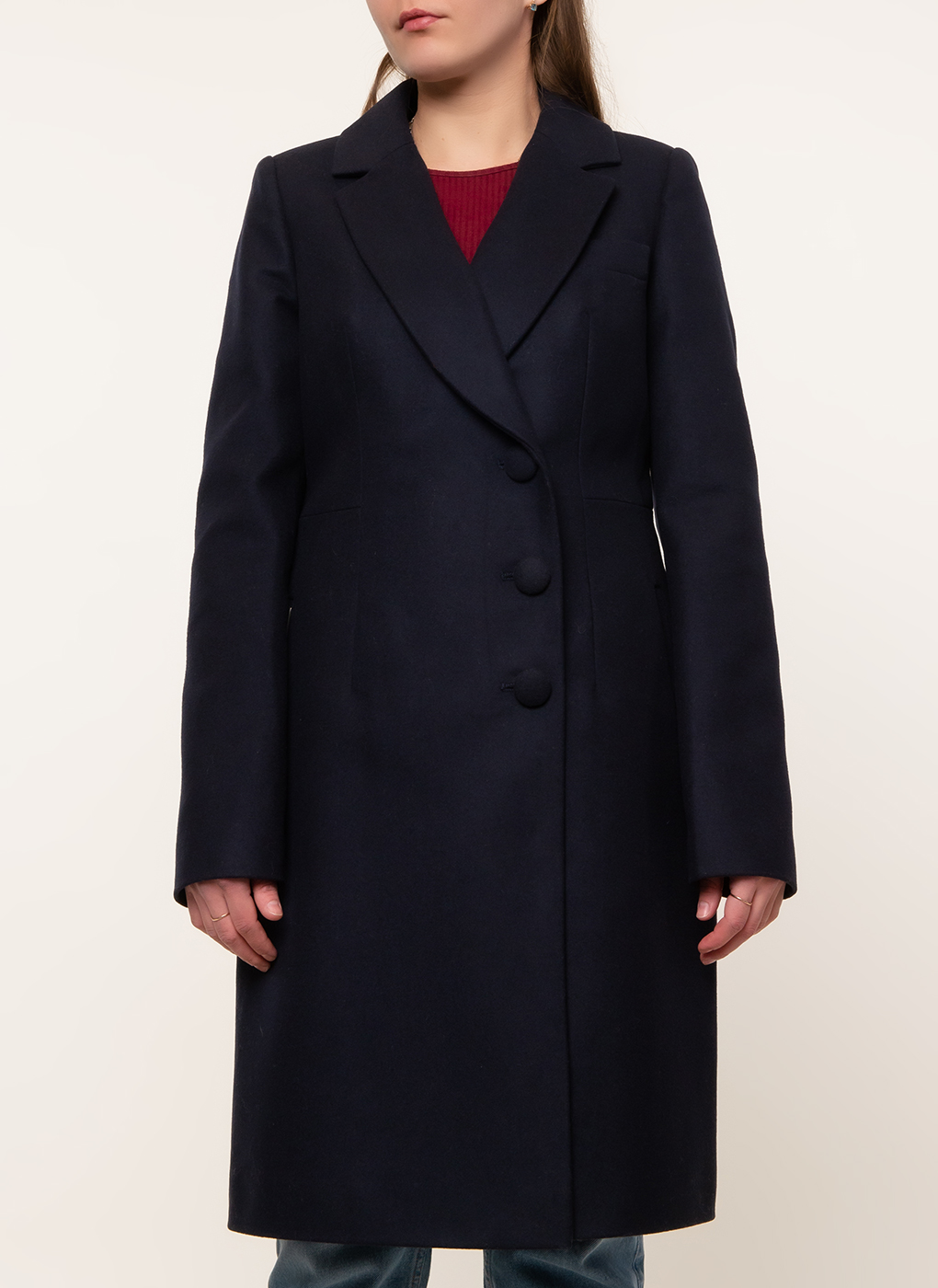 Пальто приталенное шерстяное 81, idekka фото