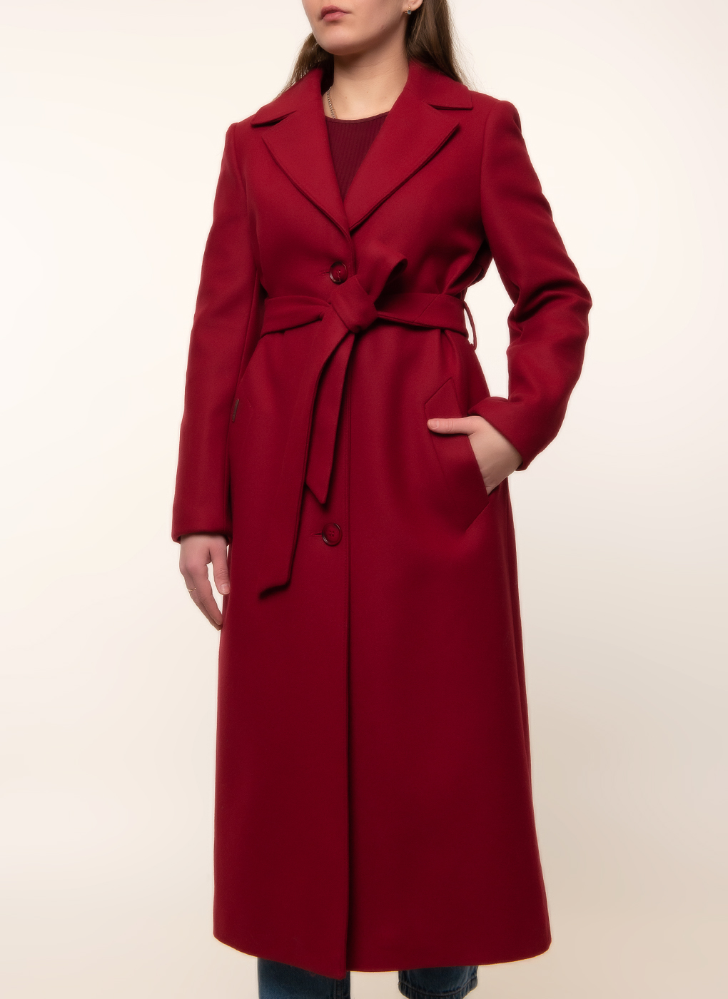Пальто шерстяное 106, idekka фото