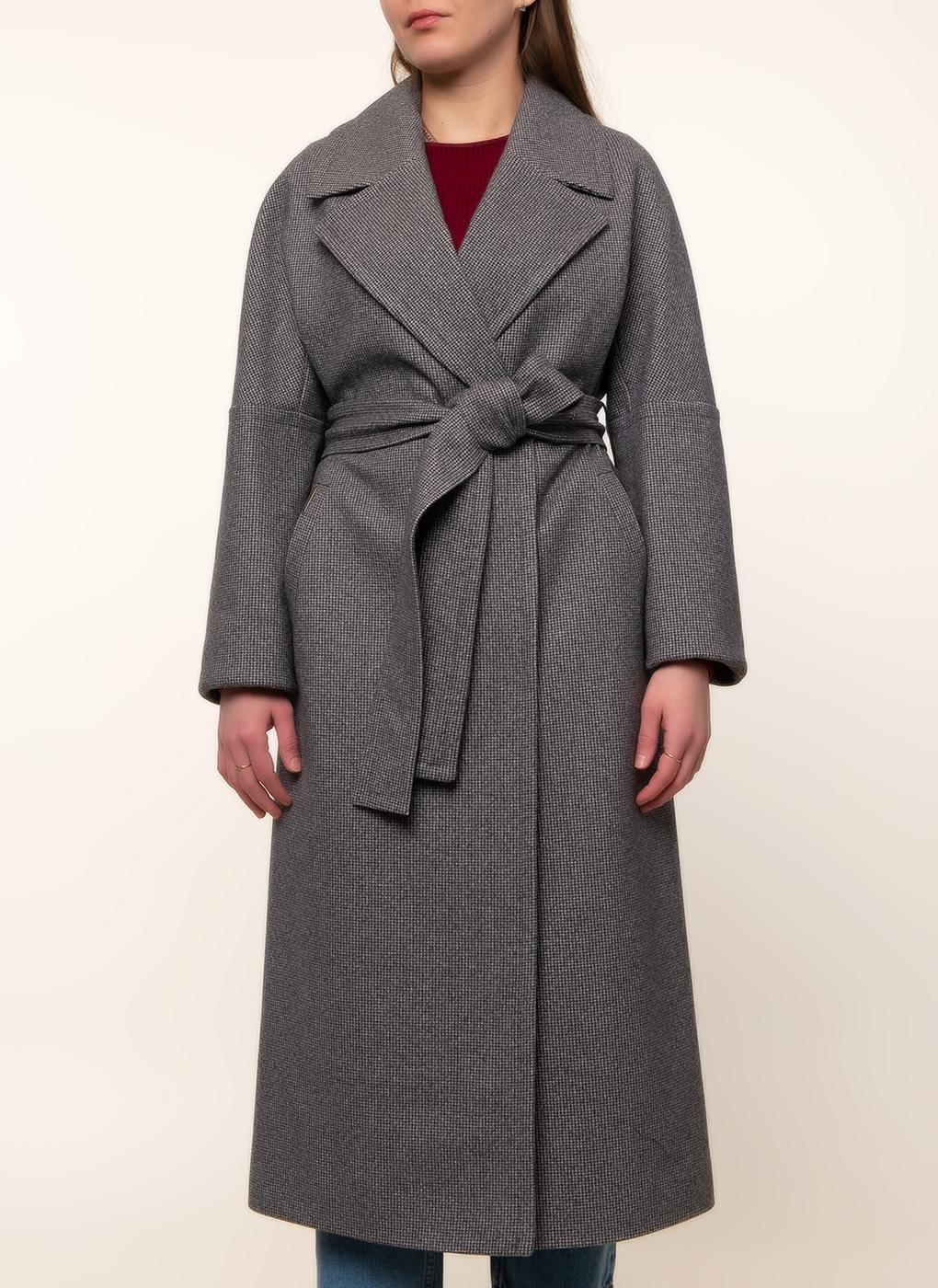 Пальто прямое полушерстяное 76, idekka фото