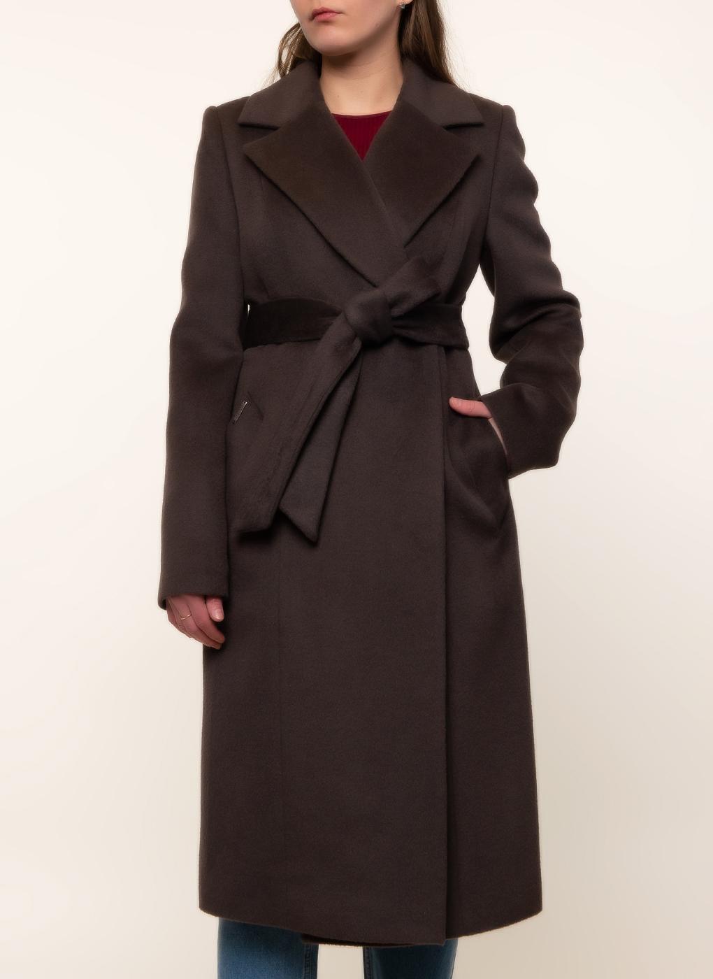 Пальто приталенное шерстяное 84, idekka