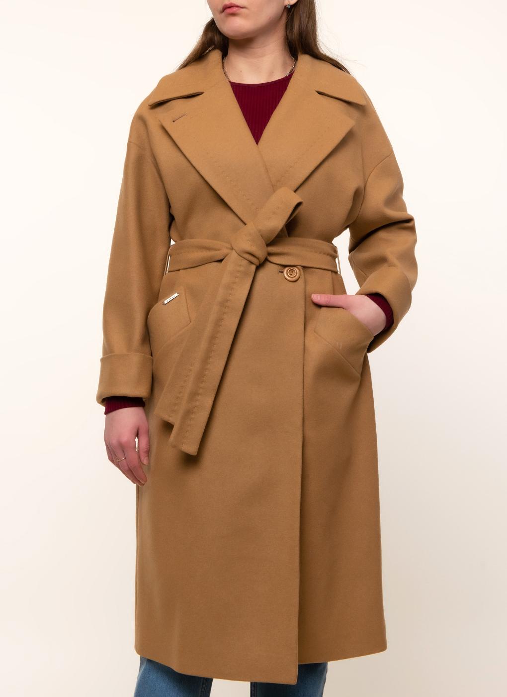 Пальто прямое шерстяное 70, idekka фото