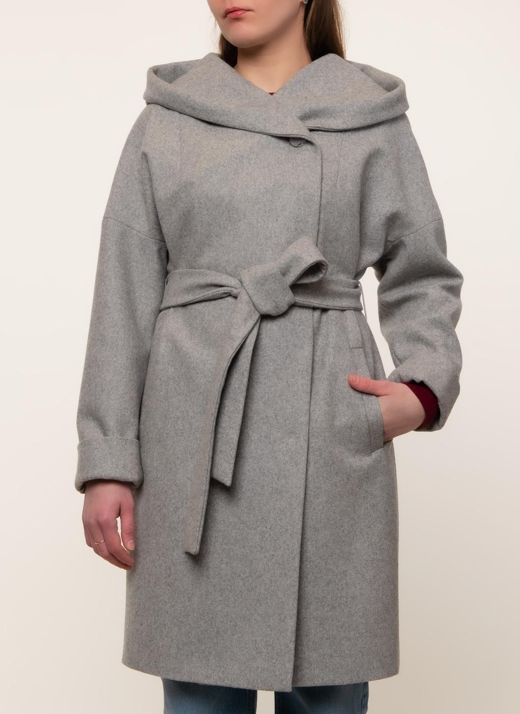 Пальто кокон полушерстяное 02, КАЛЯЕВ фото